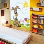 Pokój dziecięcy, fototapety ze zwierzętami