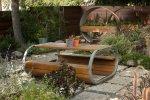 Ławka w ogrodzie