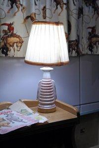 Lampa z abażurem