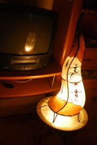 Nowoczesna, oryginalna lampa