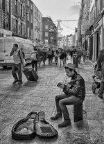 fototapeta - muzyczne uliczki