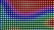 kolorowa listwa LED