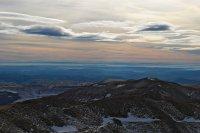 fototapeta z widokiem górskim
