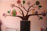 naklejki na ścianie - drzewo