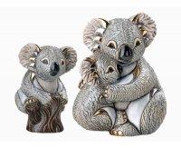 figurka ceramiczna miś koala